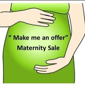 I am selling a bunch of maternity leggins.
